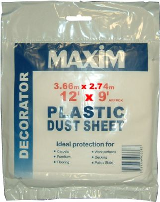 Maxim PLASTIC Dust Sheet